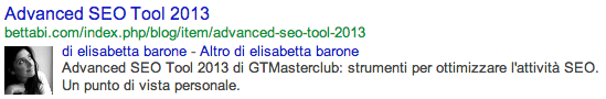 Google Authorship nelle SERP di Google