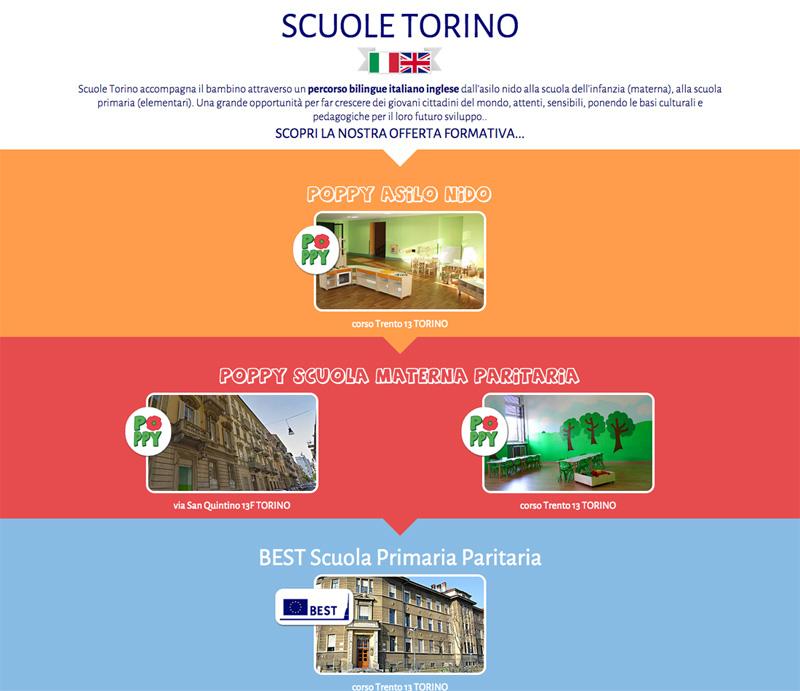 Siti Internet Scuole Torino